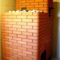 Банная печь с открытой каменкой