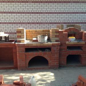 Строительство летней кухни под ключ